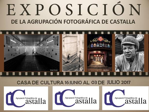 cartel expo web 2017, Agrupación Fotográfica