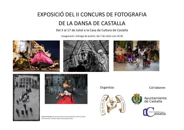 Cartell Exposició II Concurs de Fotografi de Dances